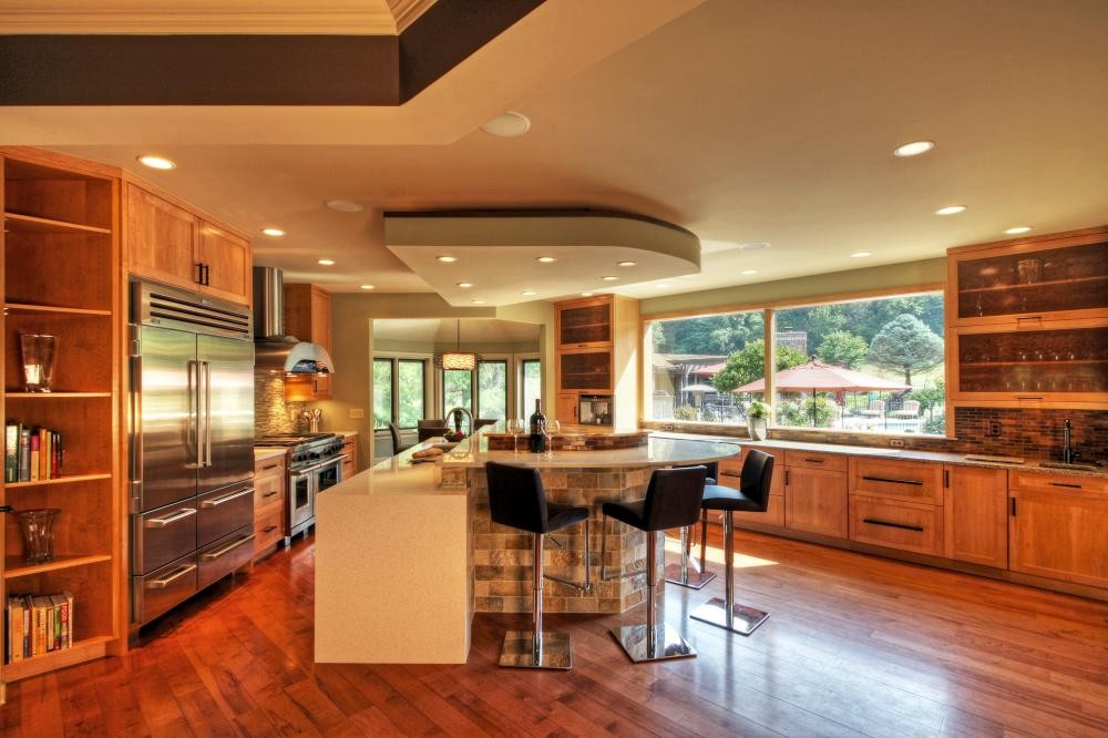 Photo By Mosby Building Arts. Modern Kitchen
