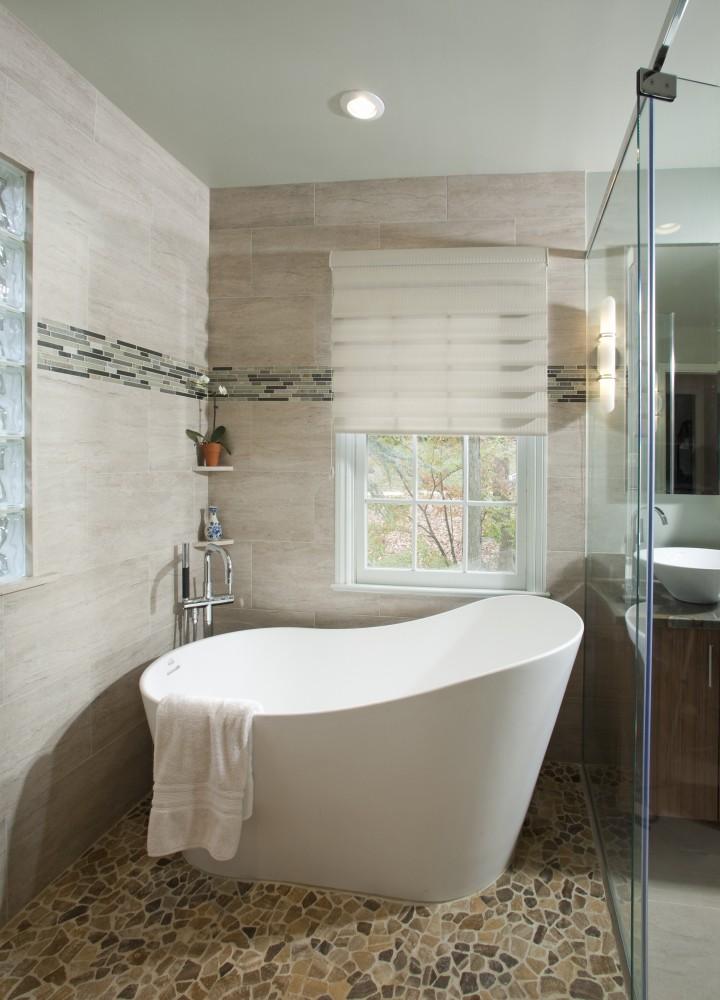 Photo By HomeTech Renovations, Inc.. Spa Master Bath