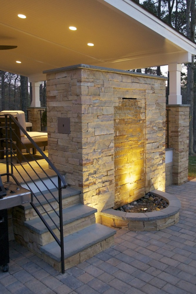 Photo By Wood Wise Design & Remodeling Inc.. Outdoor Living Area Entry