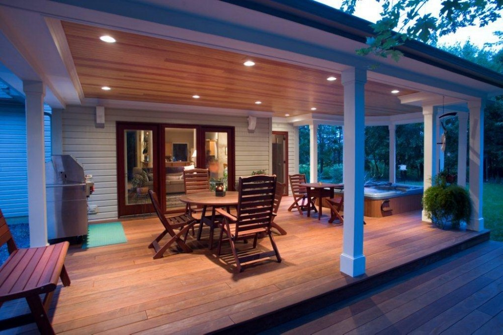 Photo By Penn Contractors, Inc.. Outdoor Living Area Entry
