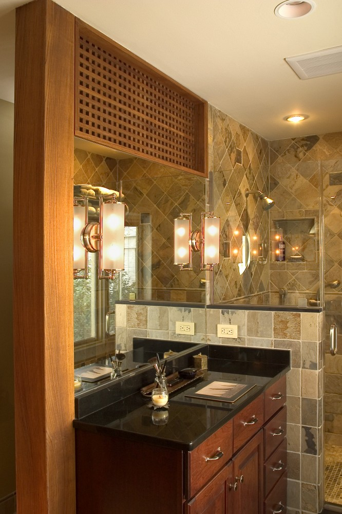 Photo By HomeTech Renovations, Inc.. Master Bath
