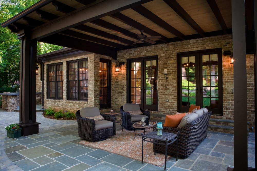 Photo By MOSAIC Group [Architects And Remodelers]. Outdoor Living Area Entry
