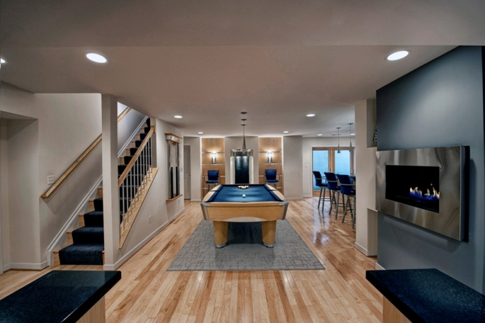 Photo By Moss Building And Design. Basement Remodel In Ashburn, VA