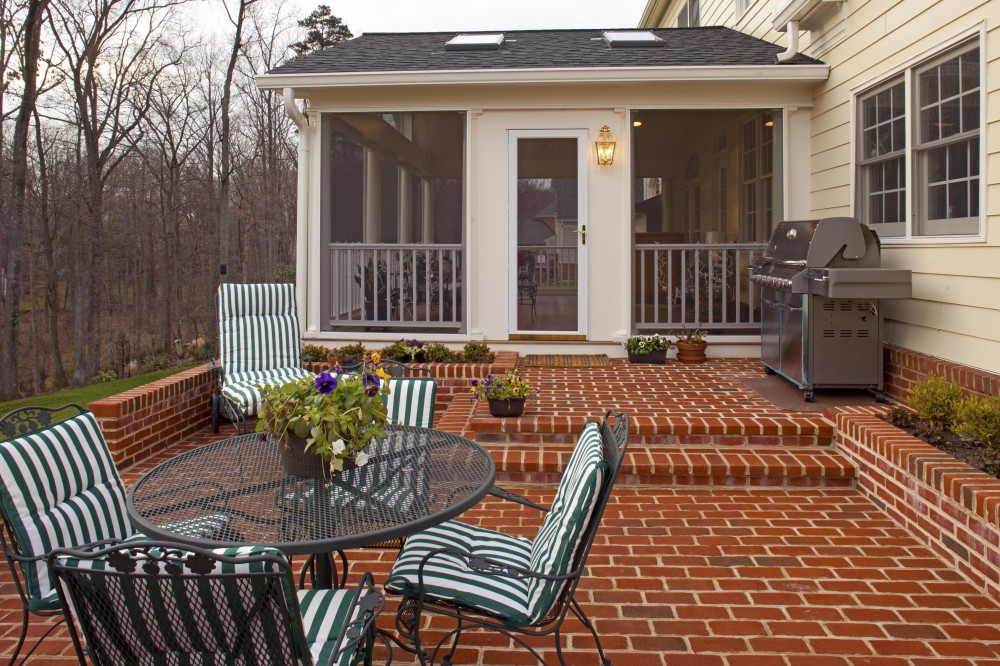 Photo By Case Design/Remodeling Inc. Of DC Metro Area. Outdoor Living Area Entry