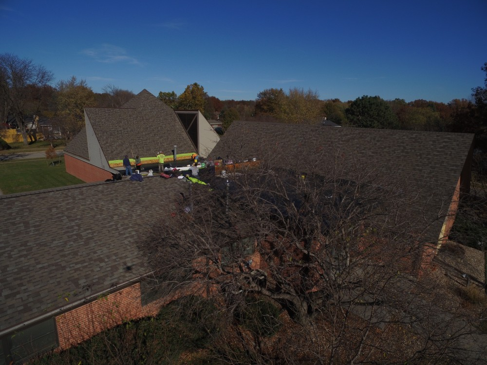 Photo By Apple Roofing. Building Up The Church