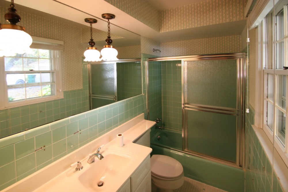 Photo By 21st Century Building Company. Bathroom Remodel - BEFORE