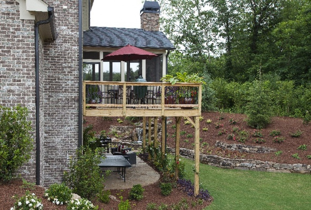 Photo By Ashton Woods Homes (Atlanta). Outdoor Living Area Entry
