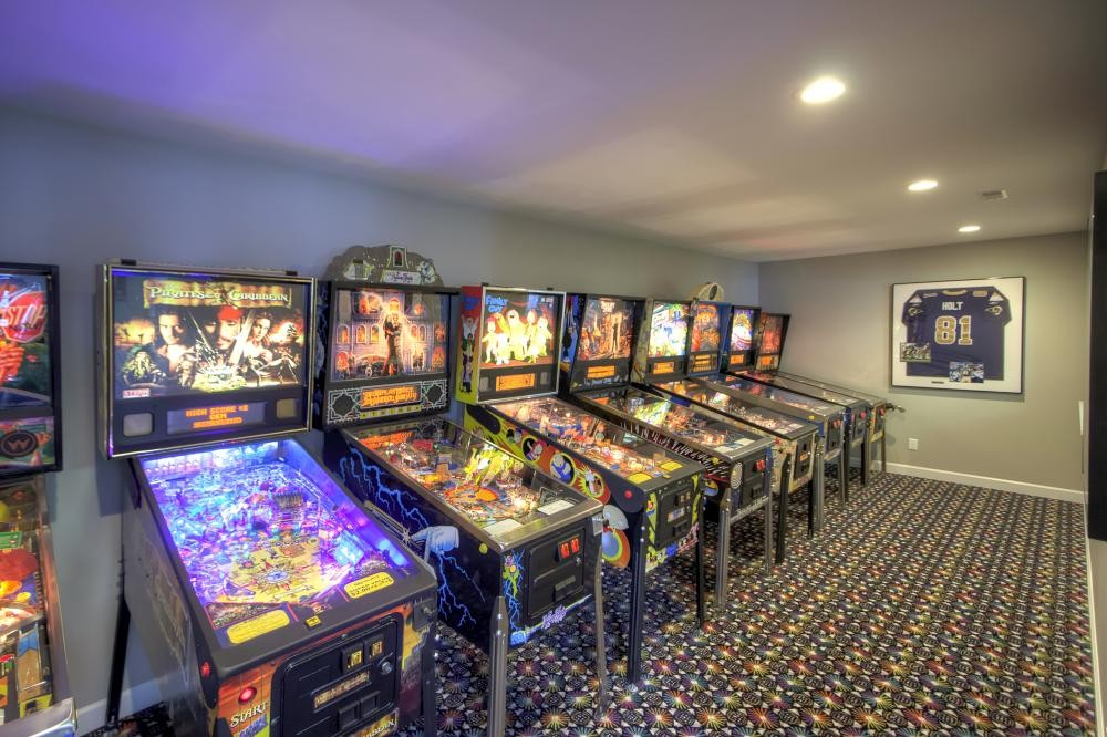 Photo By Mosby Building Arts. Recreational Basement
