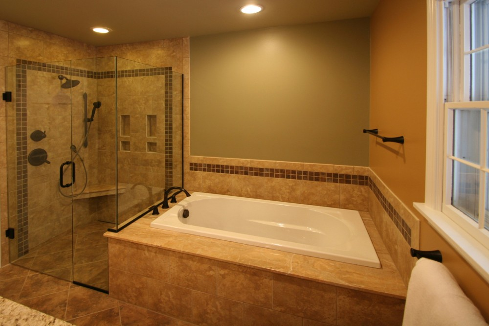 Photo By 21st Century Building Company. Bathroom Remodel - AFTER