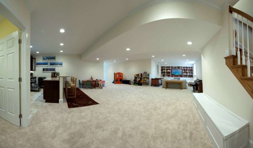 Photo By Moss Building And Design. Basement Remodel In McLean, VA