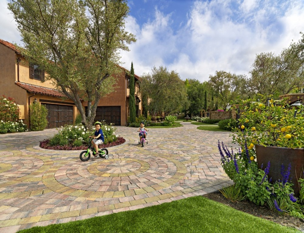 Photo By System Pavers. Outdoor Living Area Entry