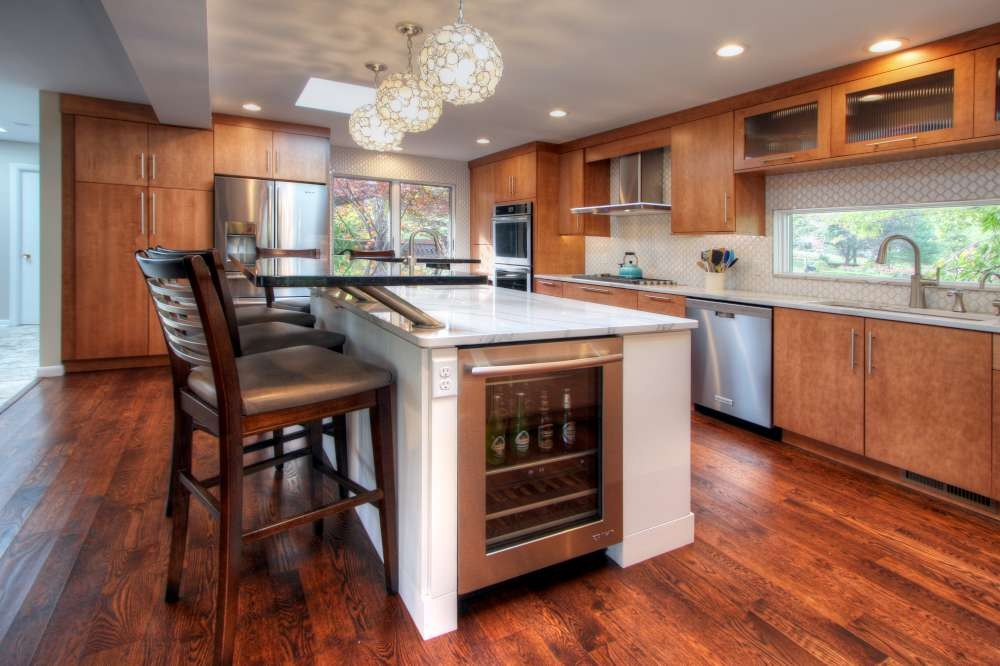 Photo By Mosby Building Arts. Modern Kitchen For Mid-Century House