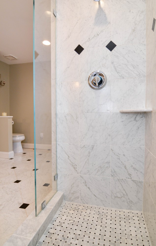 Photo By Miller Remodeling Design/Build. 1st Floor Renovation & Master Bath