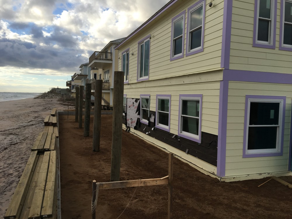 Photo By Siding Industries. BEACH HOUSE SURVIVES HURRICANE MATHEW