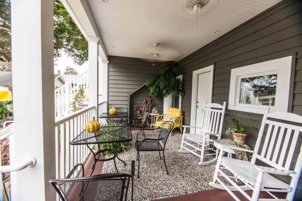 Photo By Boardwalk Builders. Bed & Breakfast Back Porch