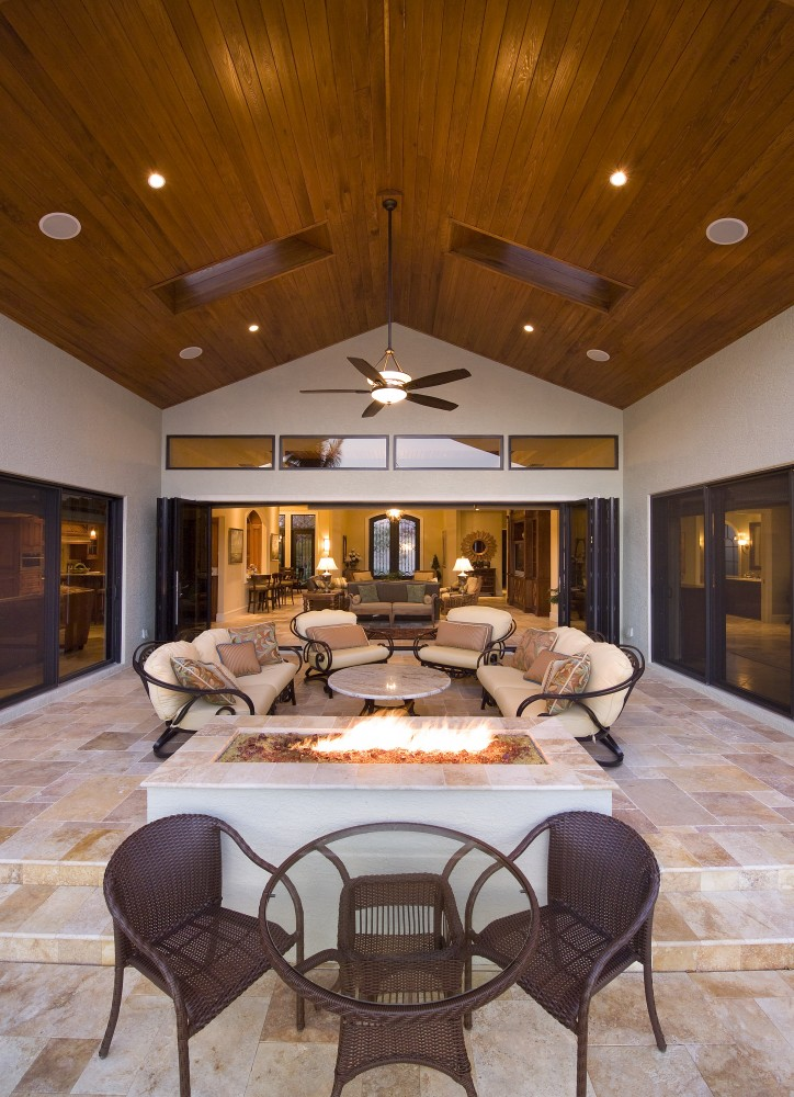 Photo By The Lykos Group, Inc. Outdoor Living Entry