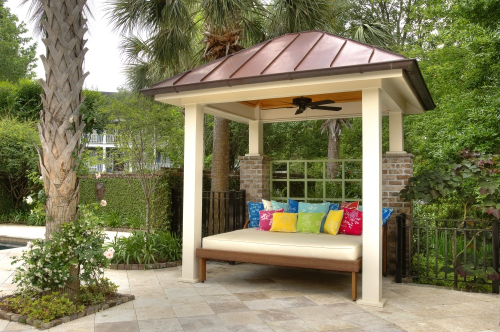 Photo By Citadel Enterprises, Inc.. Outdoor Living Entry
