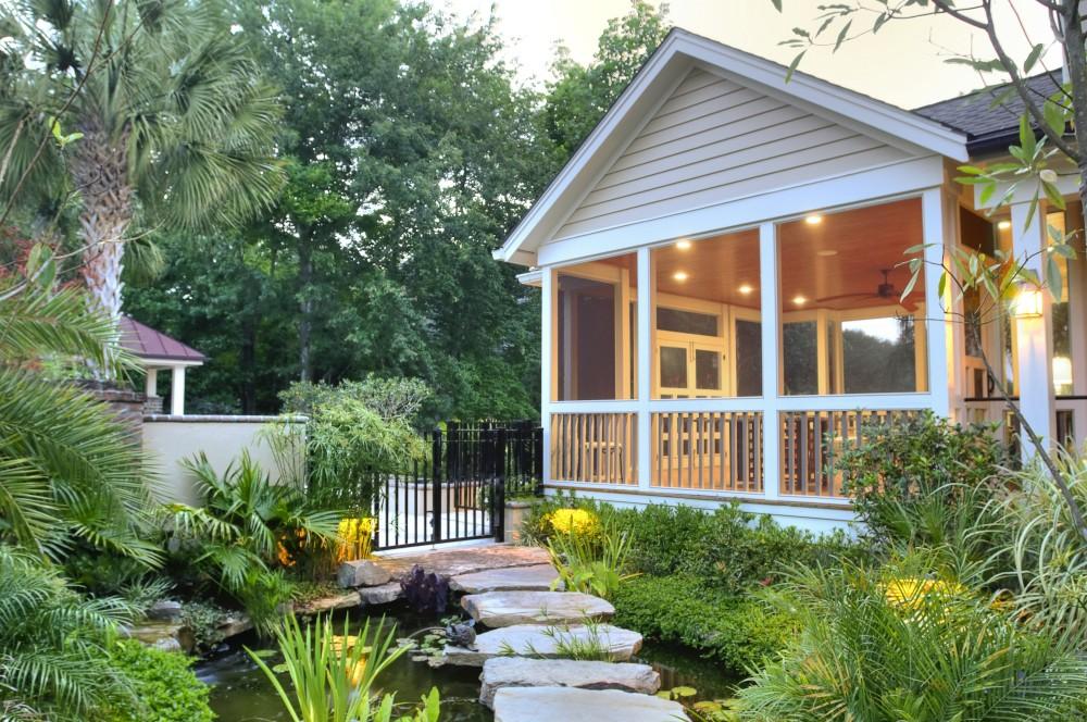 Photo By Citadel Enterprises, Inc.. Outdoor Living Entry