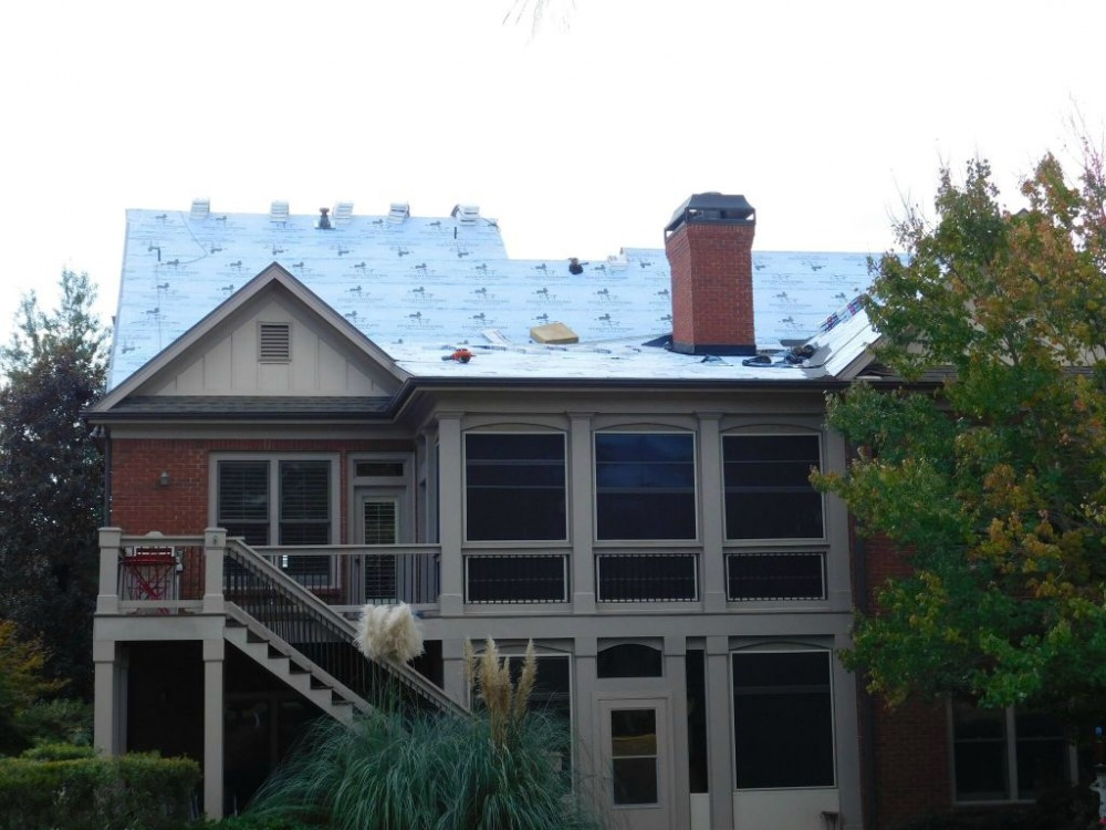 Photo By Accent Roofing / LeakSmith. Before And After Pictures
