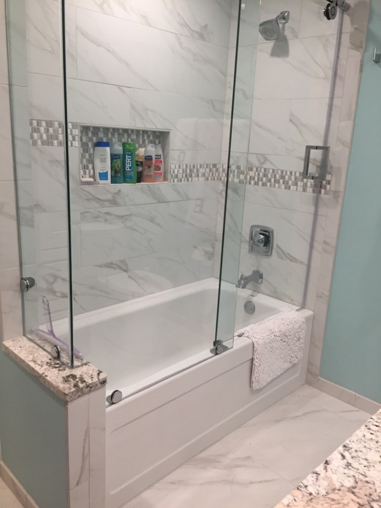 Photo By Herl's Bath & Tile Solutions.