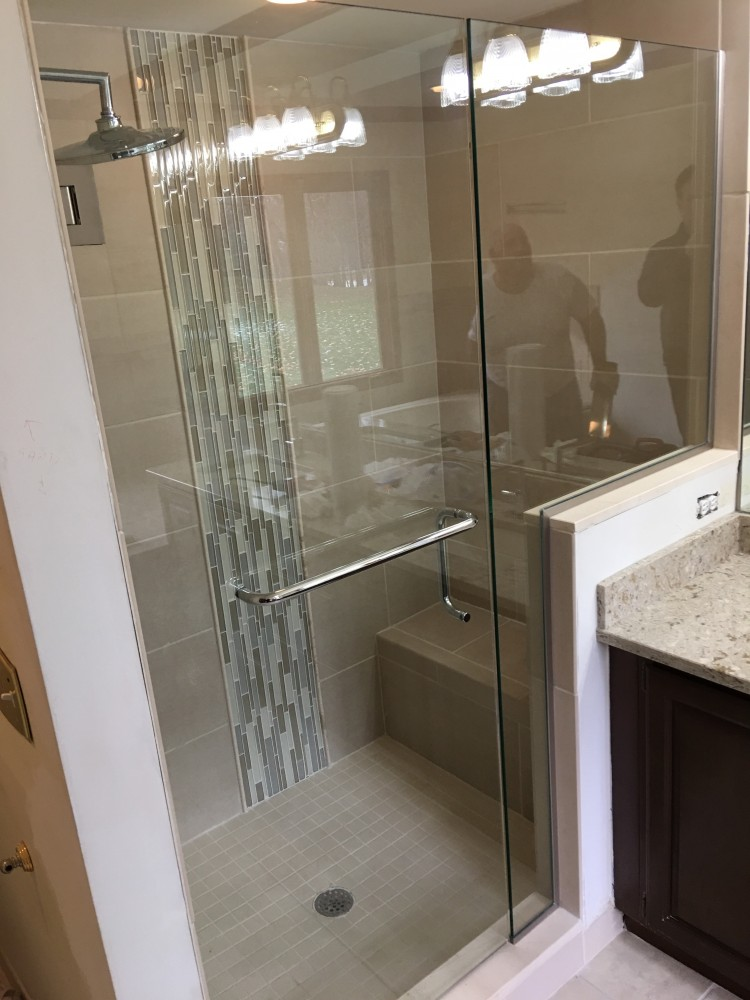Photo By Home Building Solutions LLC. Master Bathroom