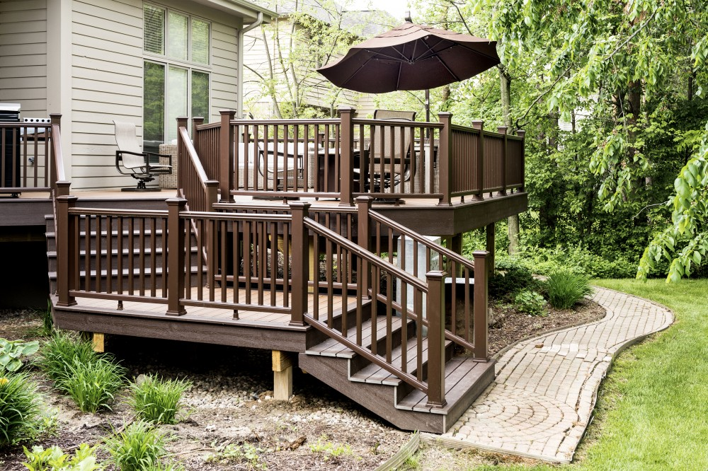 Photo By Custom Built Design & Remodeling. Beautiful Deck Project Before And After