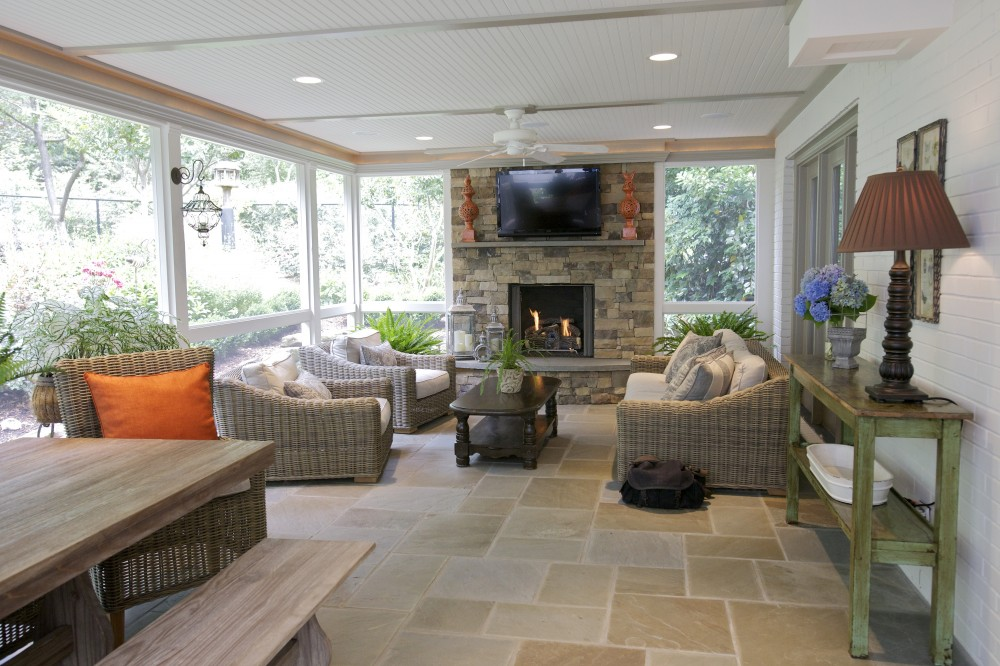 Photo By Wood Wise Design & Remodeling Inc.. Porch