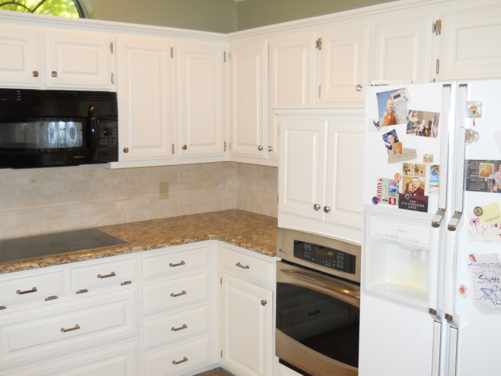 Photo By Fresh Coat Painters Of Denton. Cabinet Painting & Staining