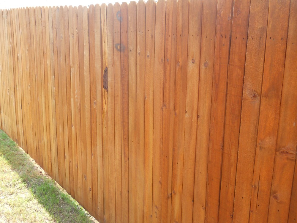 Photo By Fresh Coat Painters Of Denton. Fence & Deck Staining