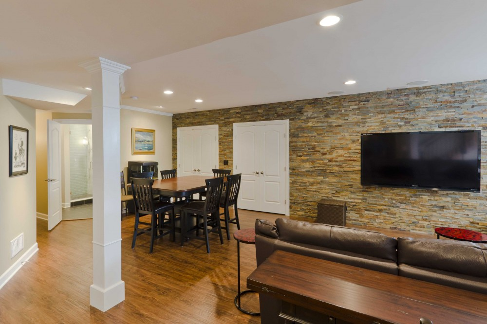 Photo By Synergy Builders. Erickson Basement