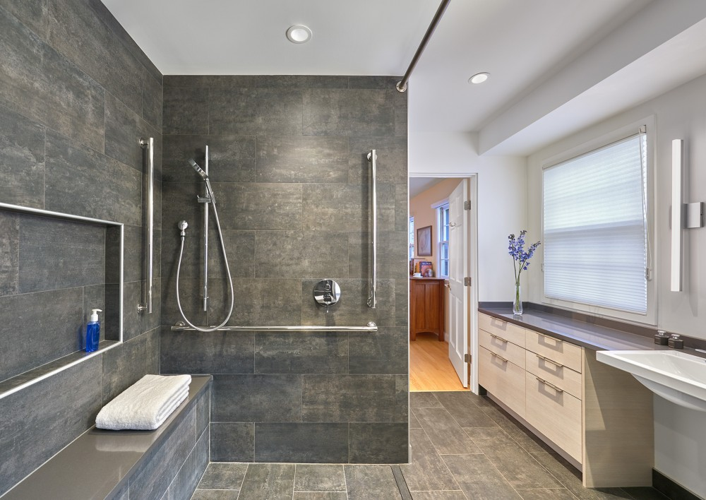 Photo By CARNEMARK Design + Build. A Lifetime Of Comfort-Master Suite Remodel; Bethesda, MD