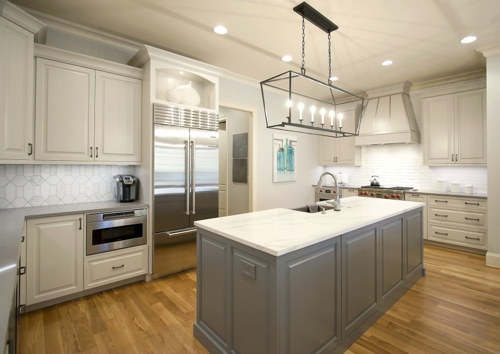 Photo By Greenbrook Design. South Charlotte Remodel