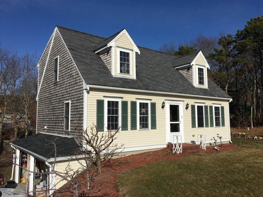 Photo By Beantown Home Improvements. Owens Corning Roof In Onyx Black