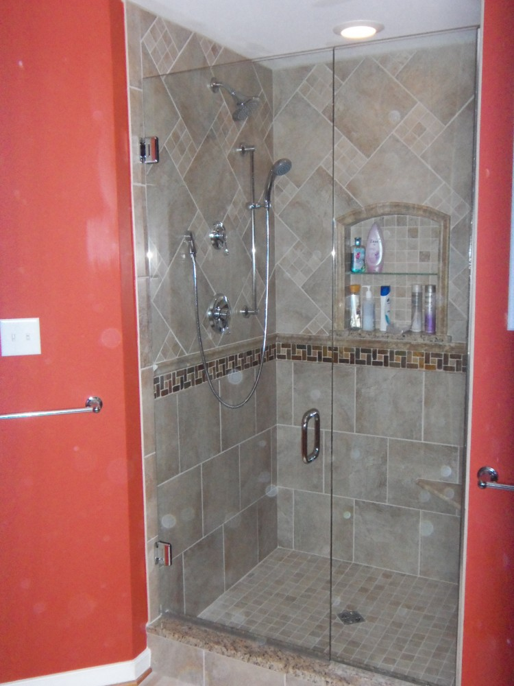 Photo By The Remodeling Company LLC. Shower Renovation W