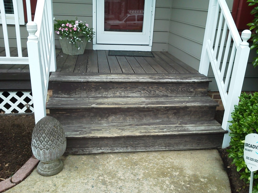 Photo By The Remodeling Company LLC. Composite Decking B