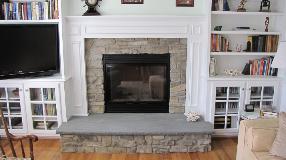 Photo By T.R. Builder, Inc.. Fireplace Renovation