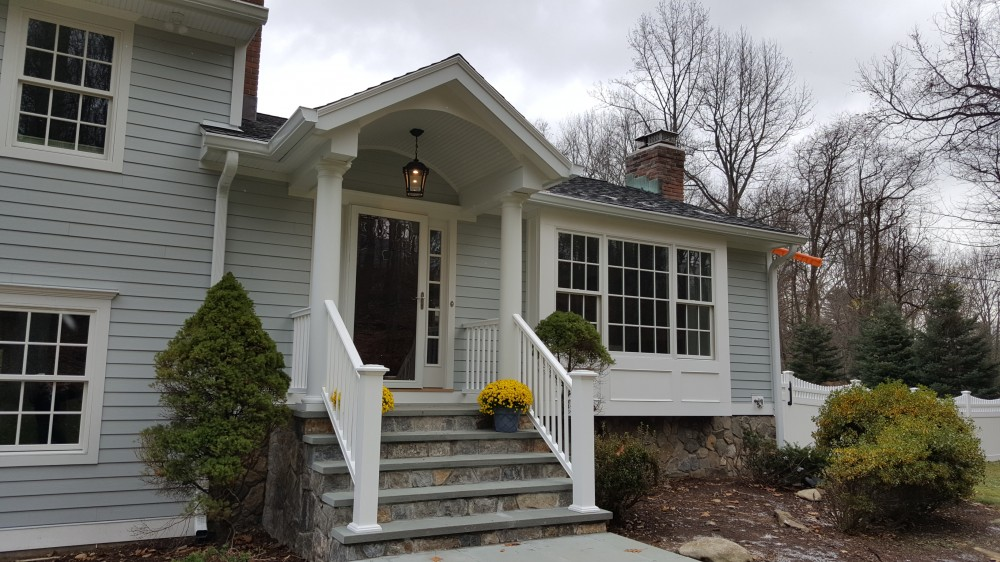 Photo By Burr Roofing, Siding & Windows. Exterior Remodel, Wilton CT