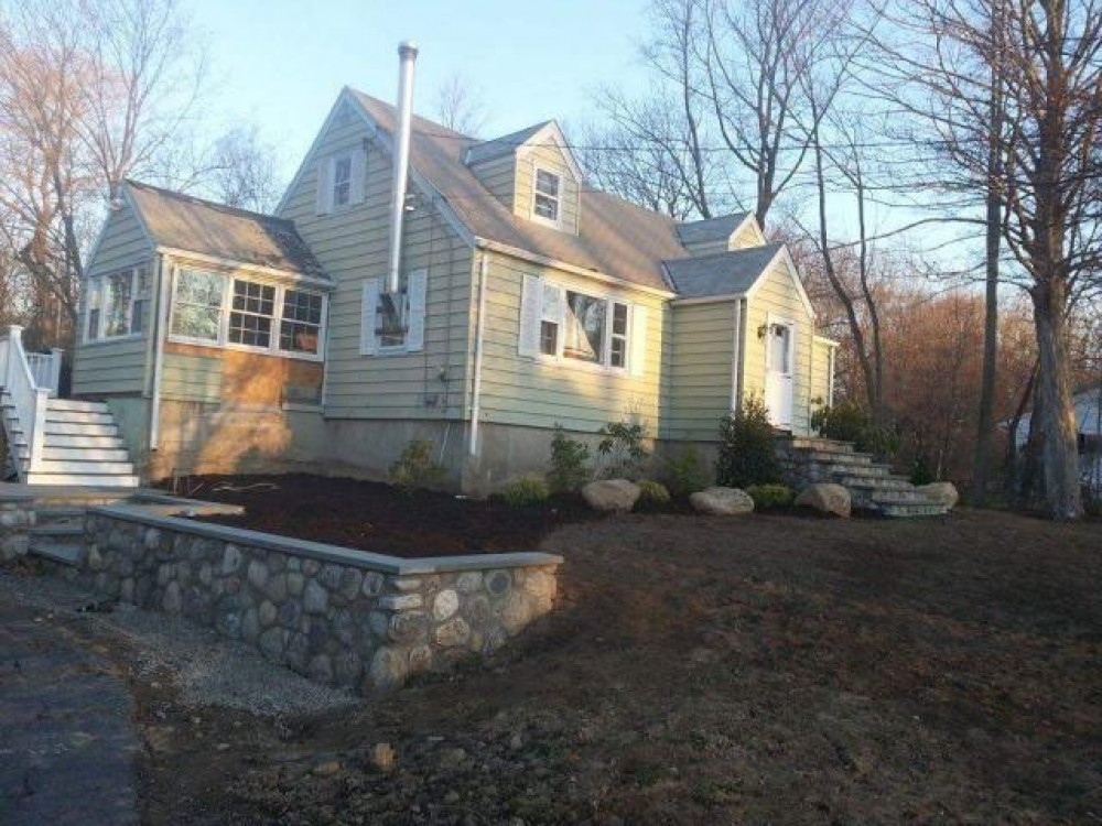 Photo By Burr Roofing, Siding & Windows. Full Exterior Remodel, Trumbull CT