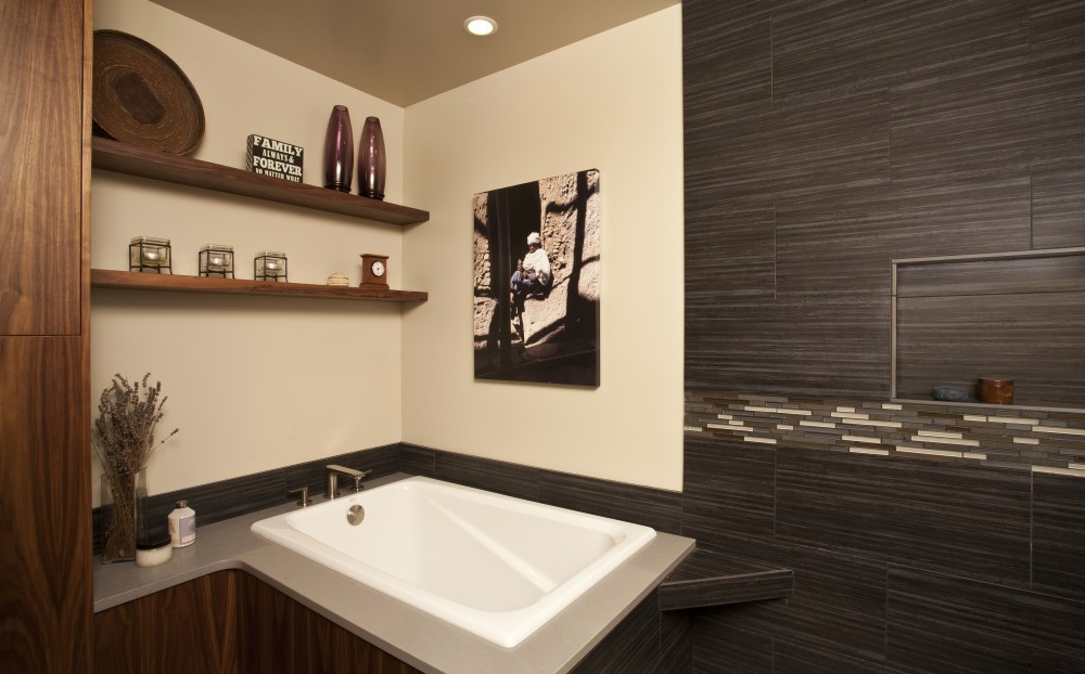 Photo By G. Little Construction. Bathroom Remodels