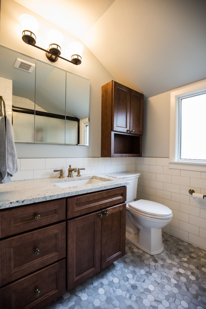 Photo By Peak Improvements LTD. Whole Home Remodel