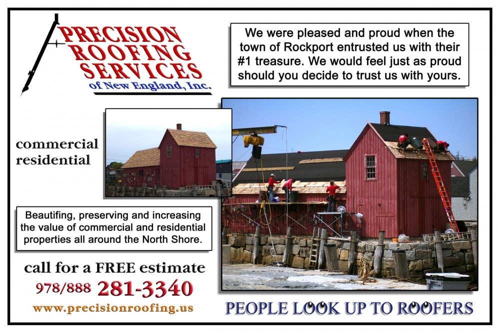 Photo By Precision Roofing Serv. Of N.E. Inc.. Precision Roofing's Roofs