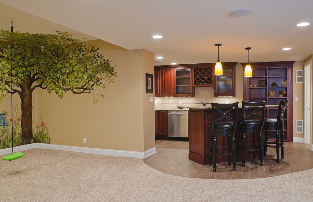 Photo By Synergy Builders. Basement In Geneva