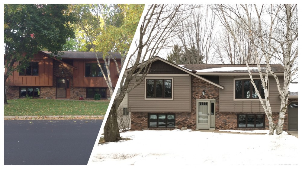 Photo By Schmidt Siding & Window. Before And After