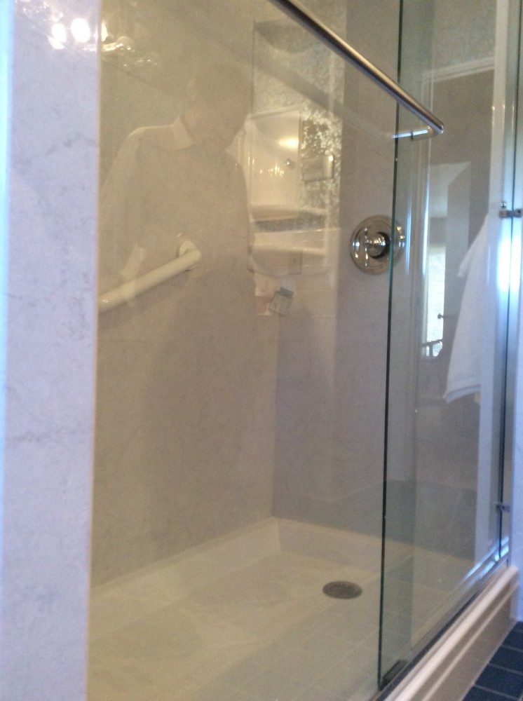 Photo By Yankee Home Improvement. BATHROOM REMODELING: QUALITY WORK AND DONE IN ONE DAY!
