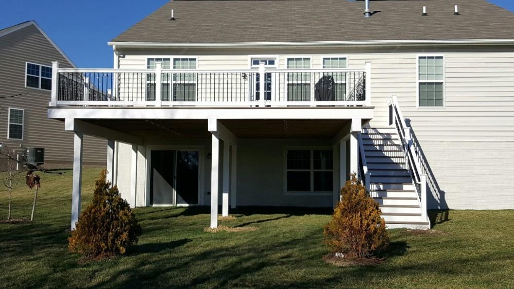 Photo By Ferris Home Improvements. Deck