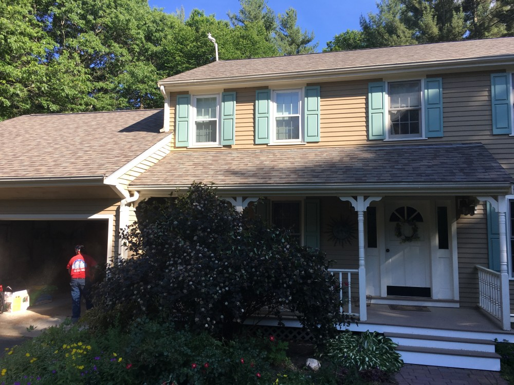 Photo By Beantown Home Improvements. Owens Corning Roof In Driftwood