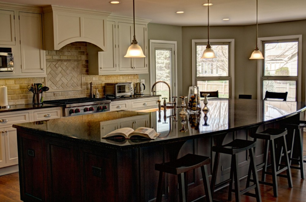 Photo By Crimson Design & Construction. Kitchen Remodels