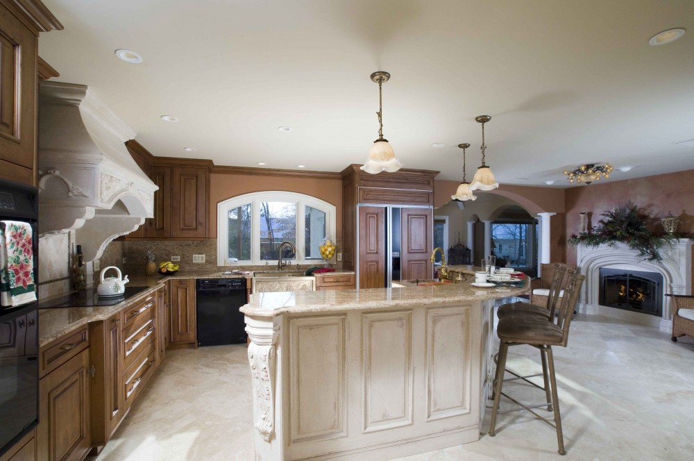 Photo By Crimson Design & Construction. Kitchen Remodels