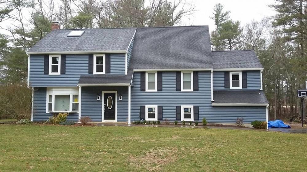Photo By Beantown Home Improvements. Vinyl Siding, Windows, Skylights