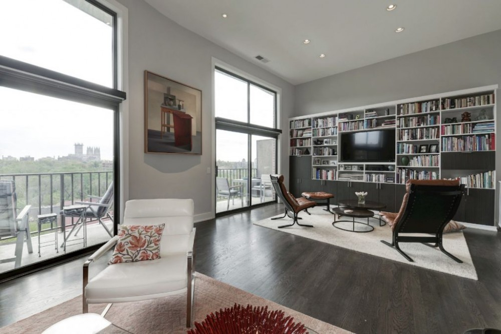 Photo By Carlsen Design & Construction. Condo In Modernist Design